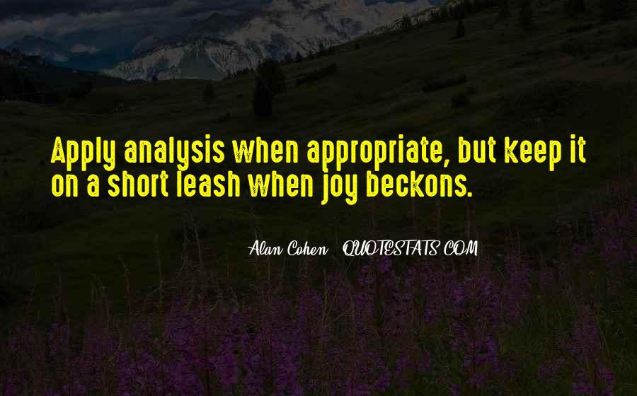 Alan Cohen Quotes #1454996