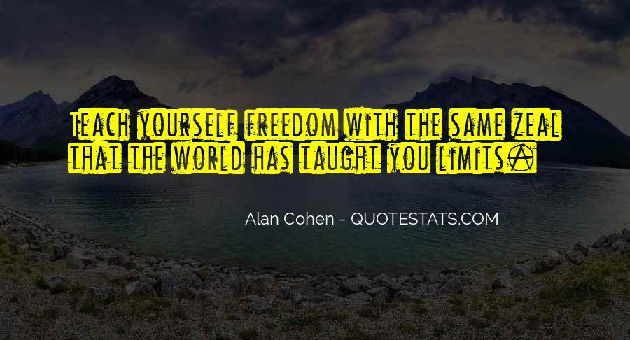 Alan Cohen Quotes #15158