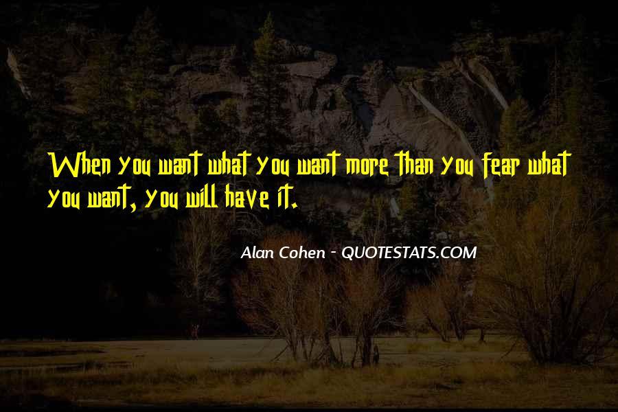 Alan Cohen Quotes #234864