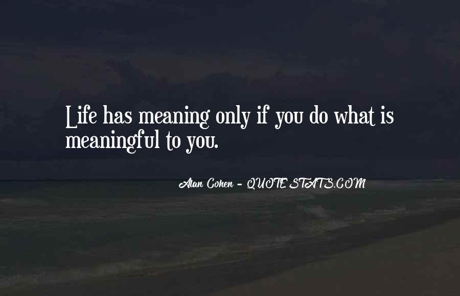 Alan Cohen Quotes #364739