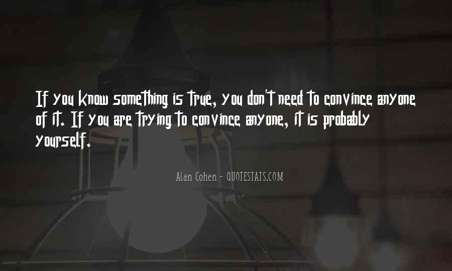 Alan Cohen Quotes #991365