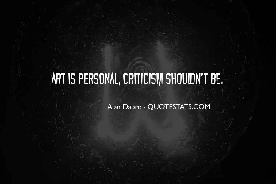 Alan Dapre Quotes #1463806