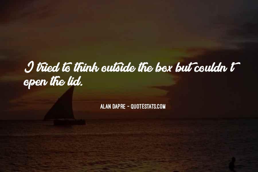 Alan Dapre Quotes #392822