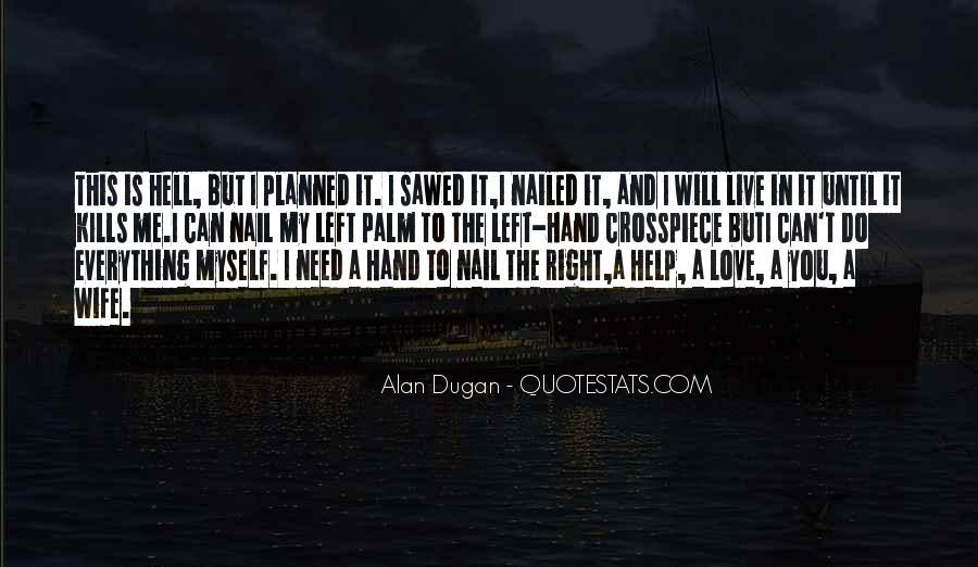 Alan Dugan Quotes #36215