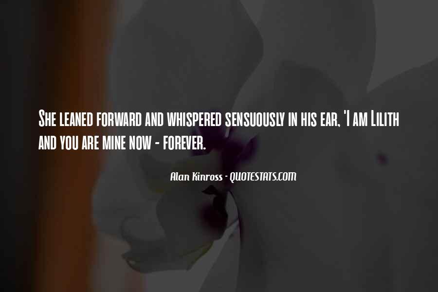 Alan Kinross Quotes #1173688