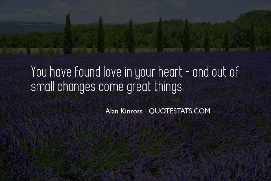 Alan Kinross Quotes #1458516