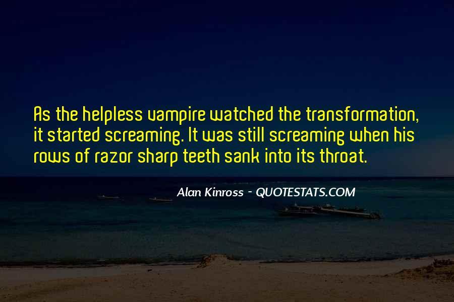 Alan Kinross Quotes #396593