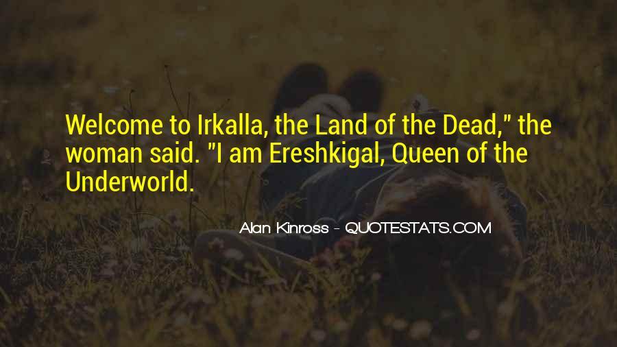 Alan Kinross Quotes #460283