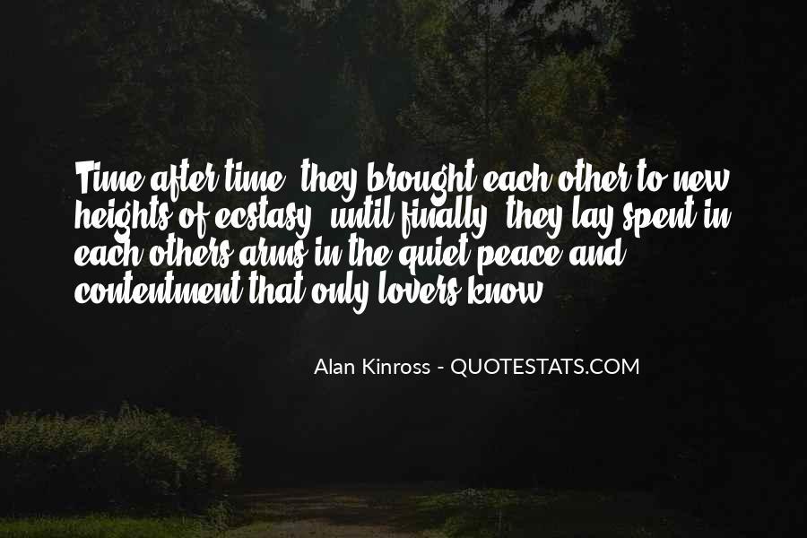 Alan Kinross Quotes #802860