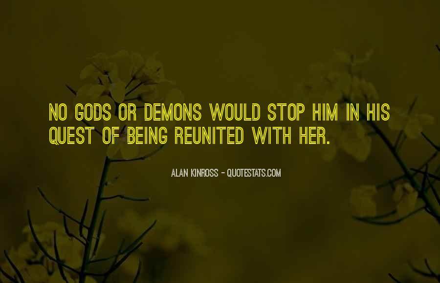 Alan Kinross Quotes #90857