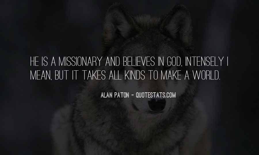 Alan Paton Quotes #860055