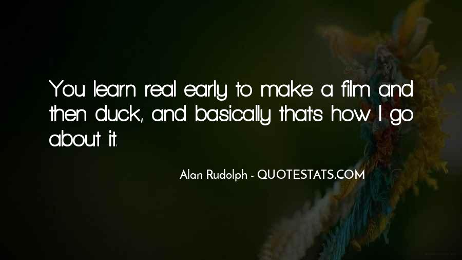 Alan Rudolph Quotes #1008887