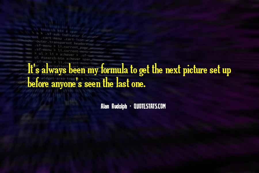 Alan Rudolph Quotes #1465292