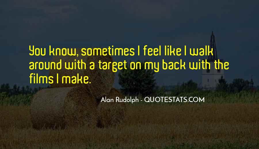 Alan Rudolph Quotes #491160