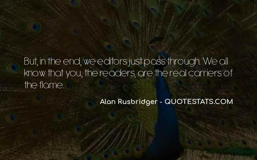 Alan Rusbridger Quotes #1782027