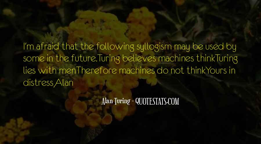 Alan Turing Quotes #1298512