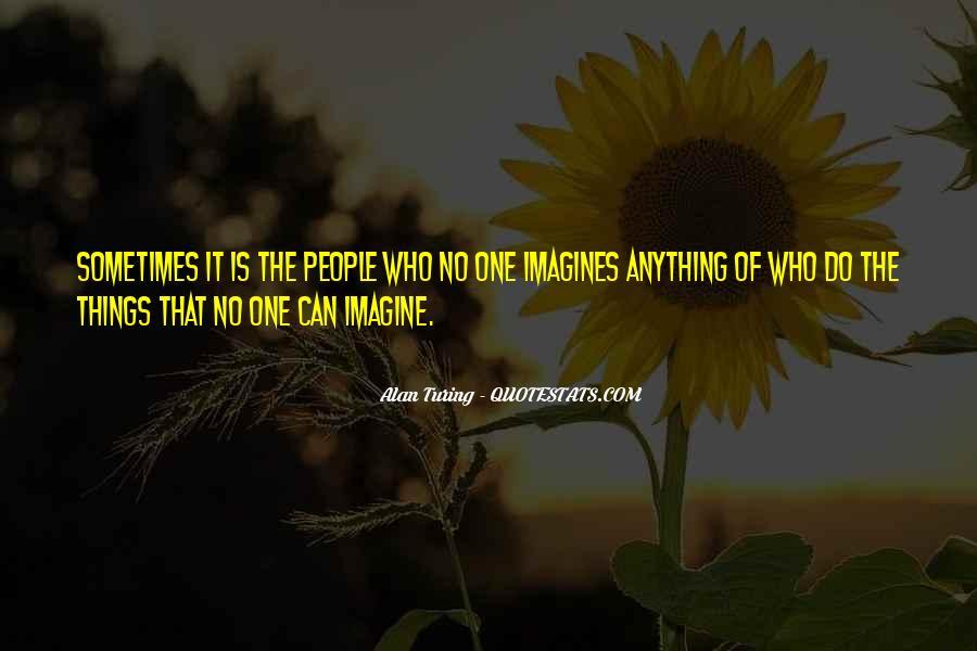 Alan Turing Quotes #1320034