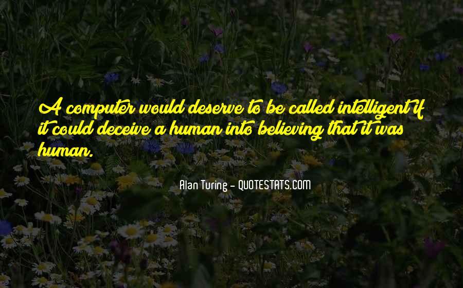 Alan Turing Quotes #1576004