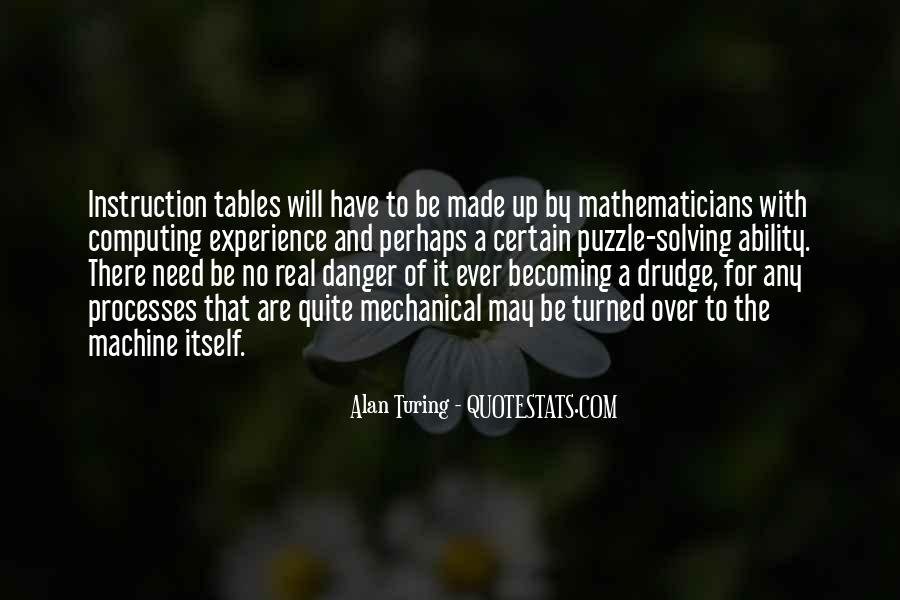 Alan Turing Quotes #1665403