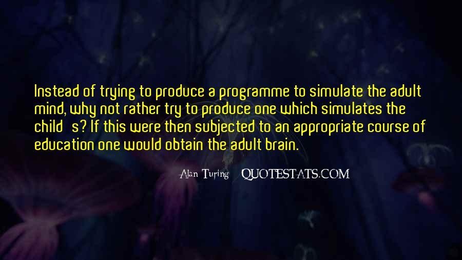 Alan Turing Quotes #1700962
