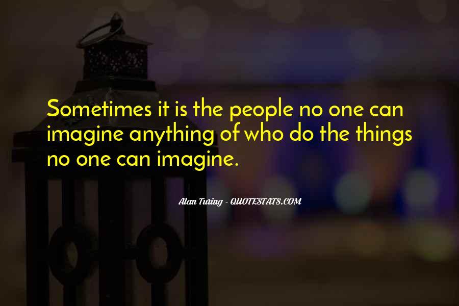 Alan Turing Quotes #308716