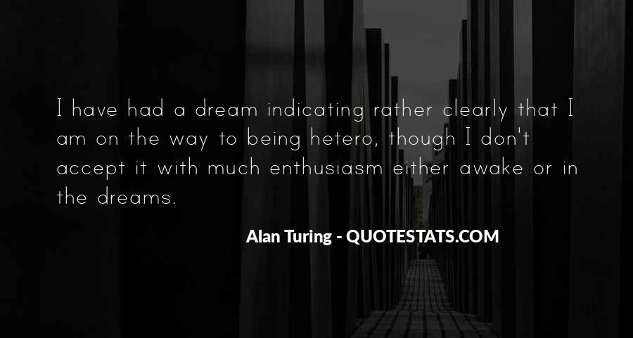 Alan Turing Quotes #548869