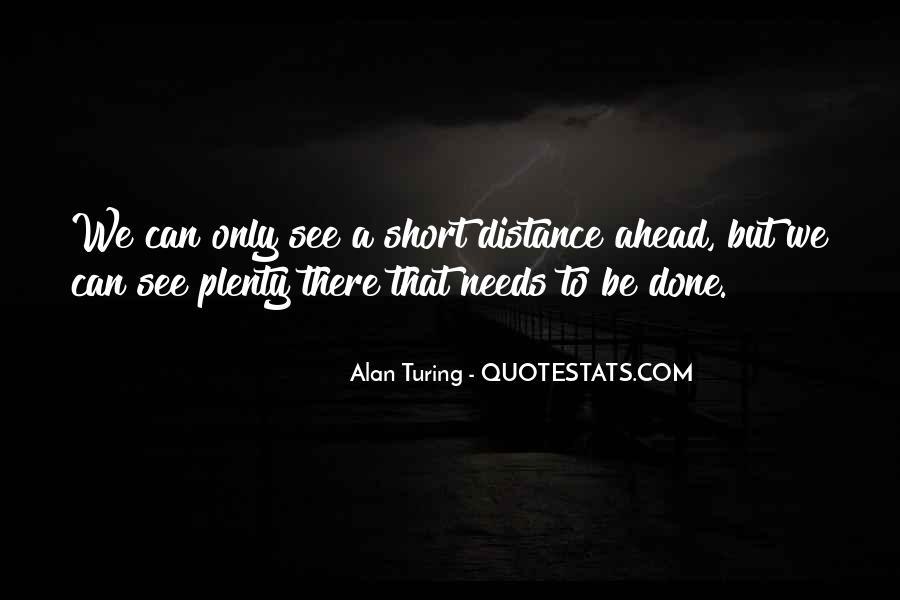 Alan Turing Quotes #56333