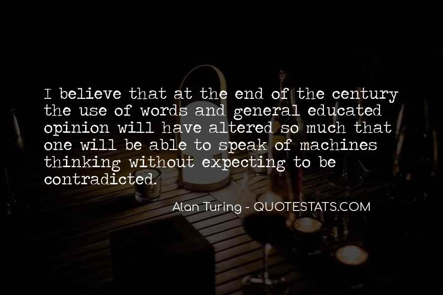 Alan Turing Quotes #581395