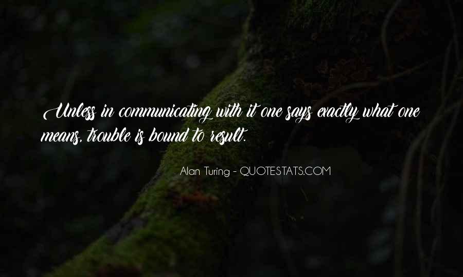 Alan Turing Quotes #734995