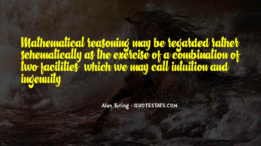 Alan Turing Quotes #738696