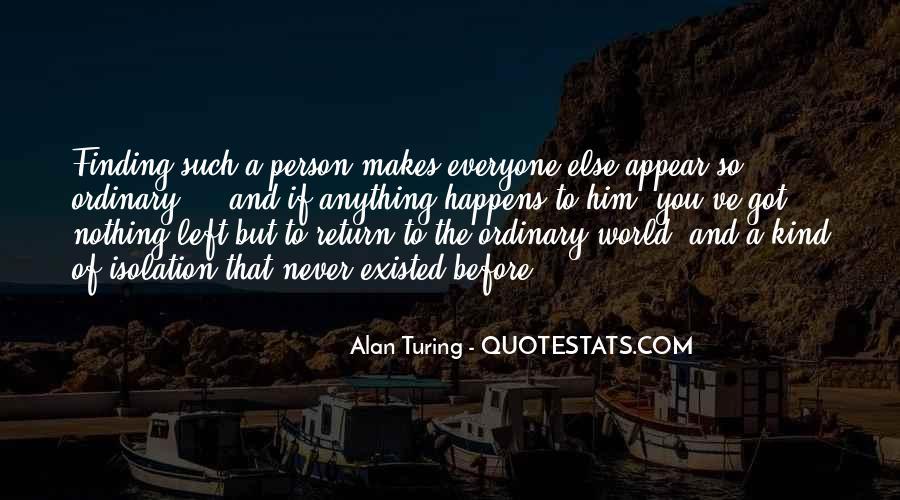 Alan Turing Quotes #830529