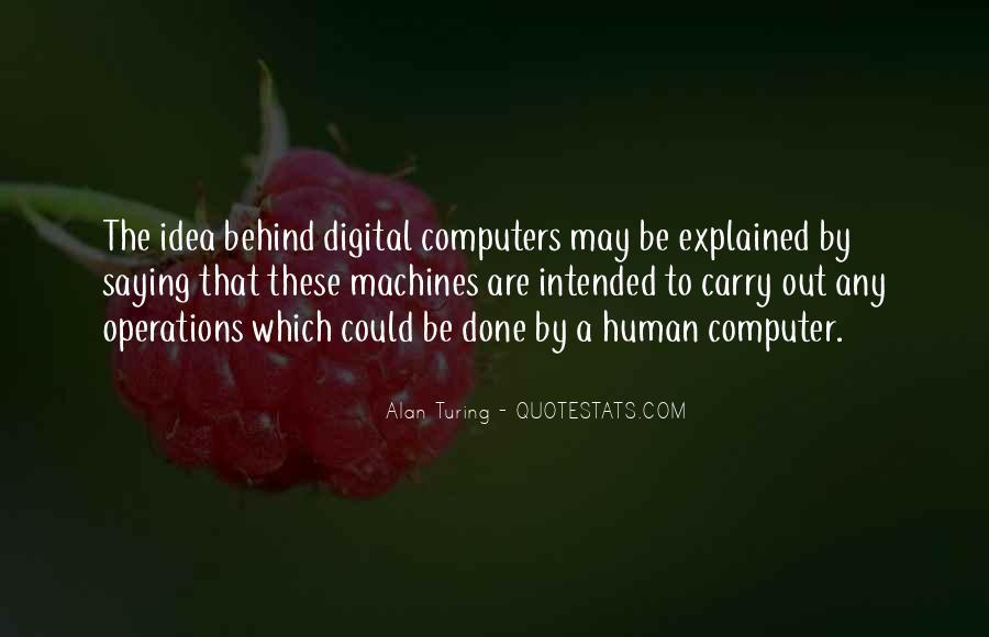 Alan Turing Quotes #939867
