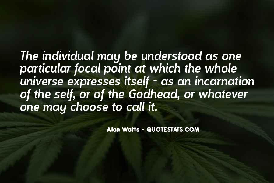Alan Watts Quotes #1251313