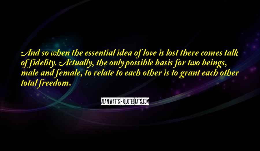 Alan Watts Quotes #761542