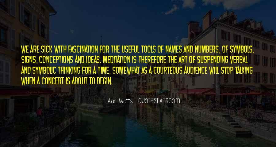 Alan Watts Quotes #877796