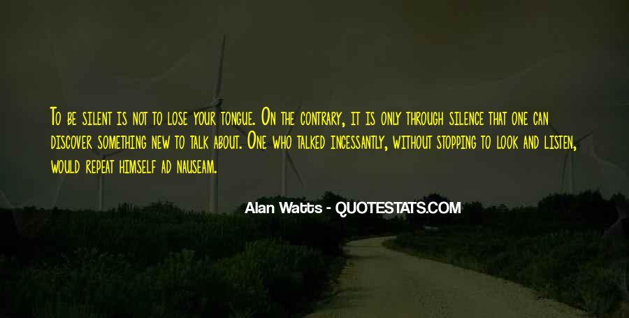 Alan Watts Quotes #951312
