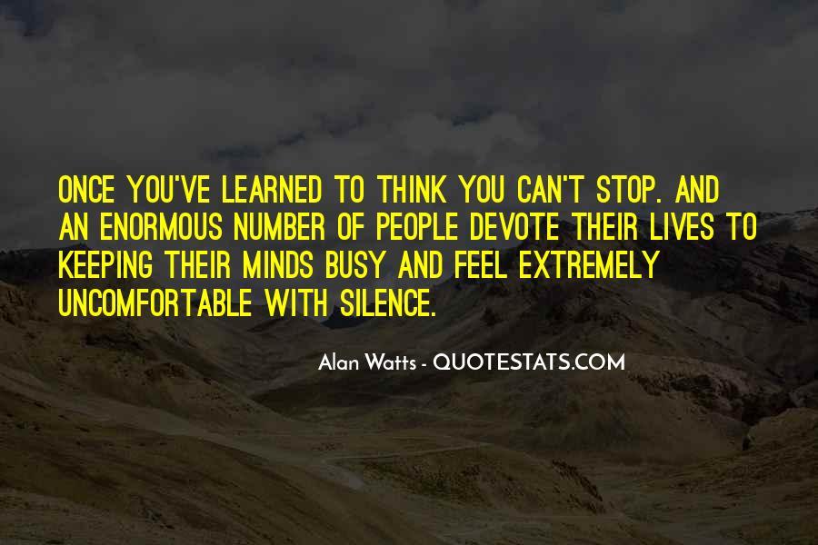 Alan Watts Quotes #969684