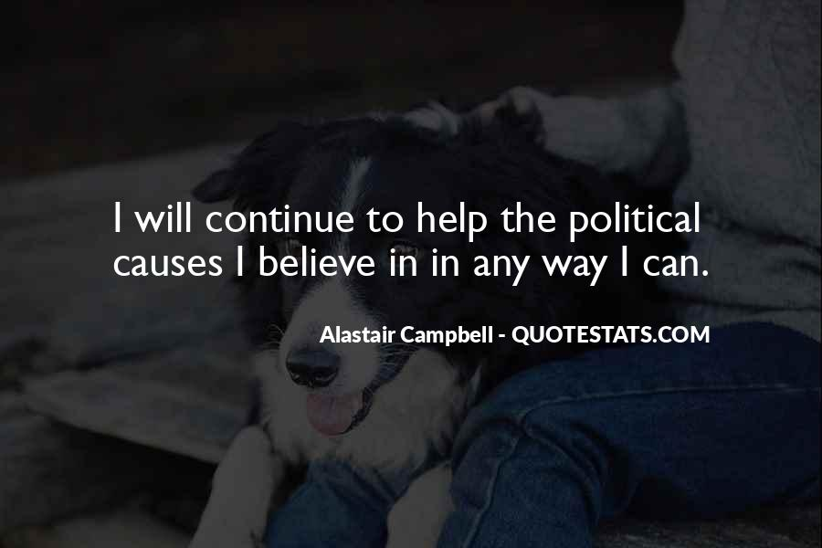 Alastair Campbell Quotes #1643201