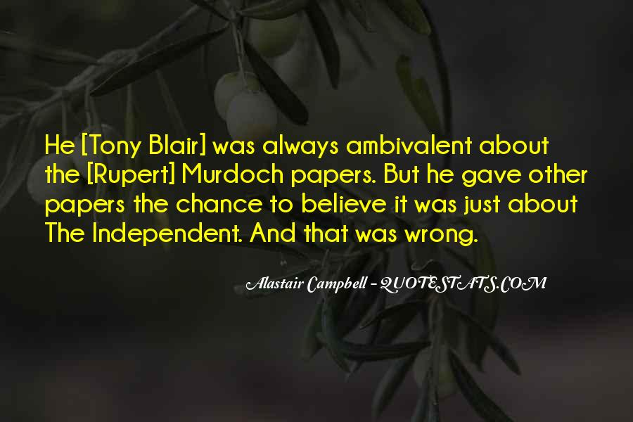 Alastair Campbell Quotes #1829696