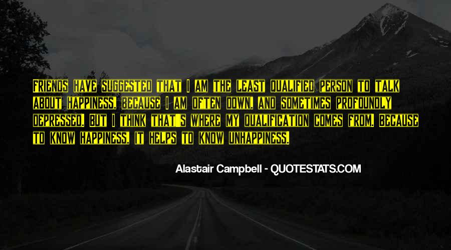 Alastair Campbell Quotes #227542