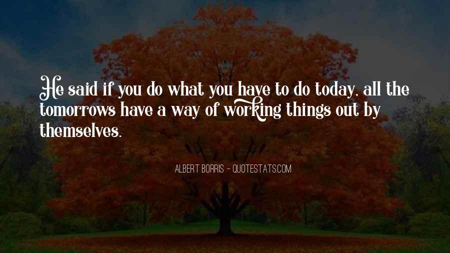 Albert Borris Quotes #589624