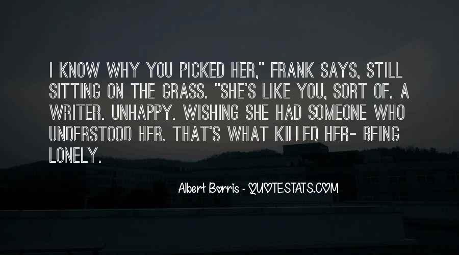 Albert Borris Quotes #716840