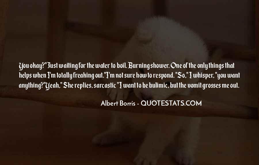 Albert Borris Quotes #908140