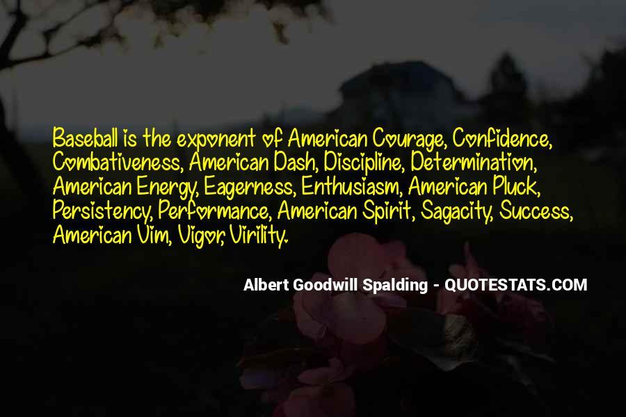 Albert Goodwill Spalding Quotes #100034