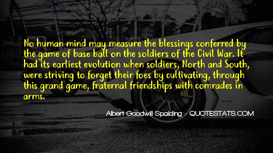 Albert Goodwill Spalding Quotes #176540