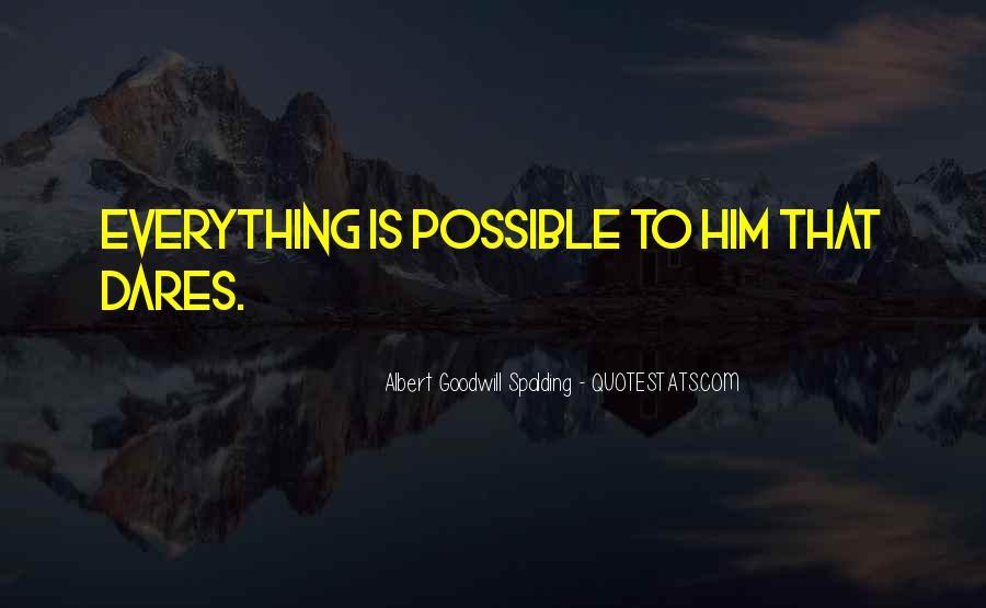 Albert Goodwill Spalding Quotes #278754