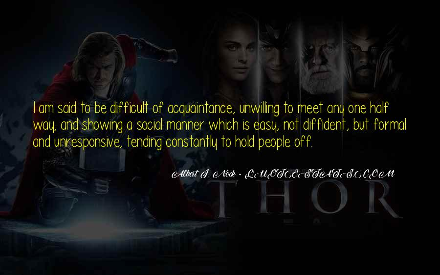 Albert J. Nock Quotes #1632860