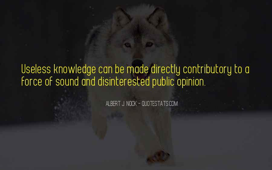 Albert J. Nock Quotes #734098