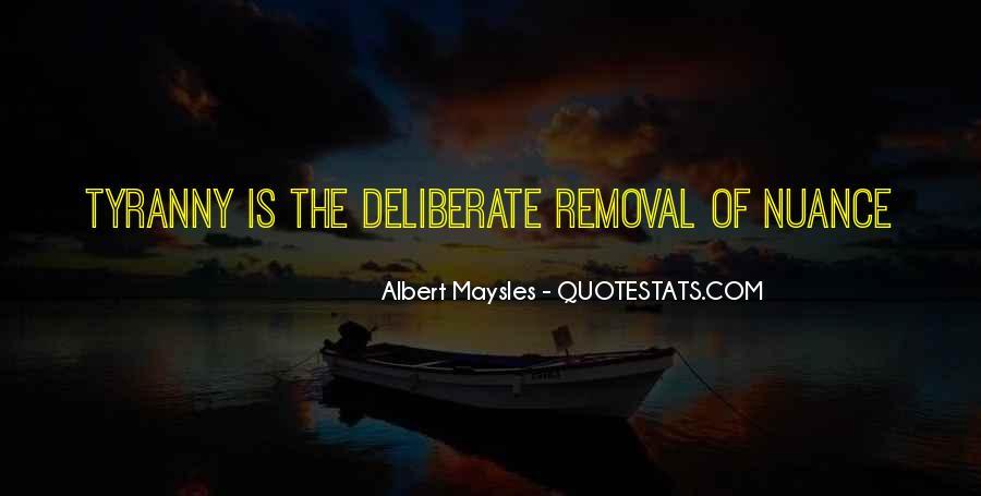 Albert Maysles Quotes #650286