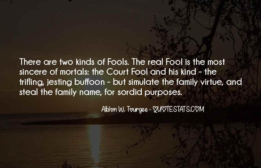 Albion W. Tourgee Quotes #1735998